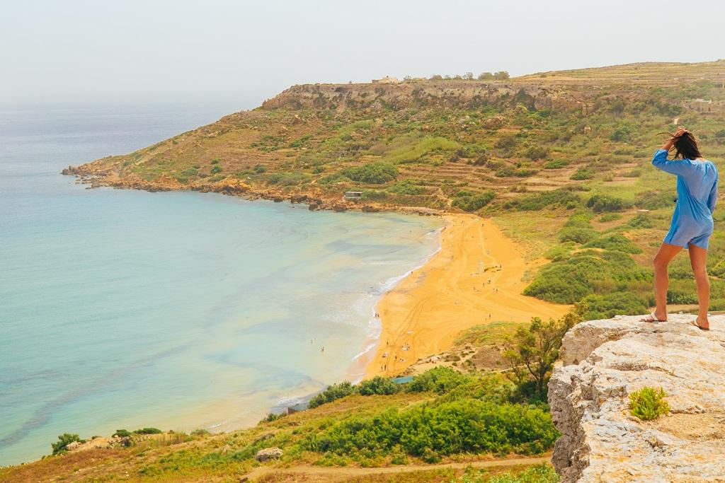 Ramla öböl, Gozo Forrás: (c) Malta Tourism Authority