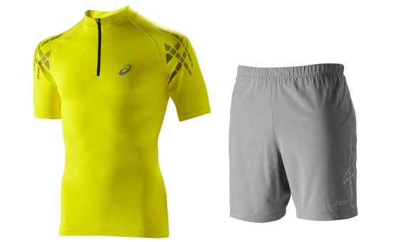 Men's Short-Sleeve Top és Speed Short Forrás: Asics