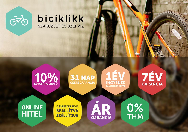 Érvek az online kerékpárvásárlás mellett Forrás: biciklikk.hu
