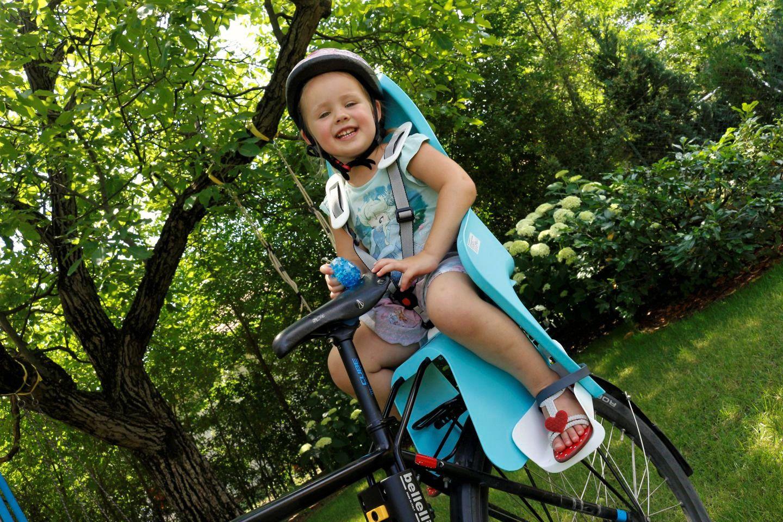 BikeFun Lotus kerékpáros gyerekülés Forrás: Mozgásvilág