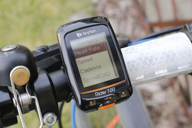 Bryton Rider 100 szenzorok Forrás: Mozgásvilág.hu
