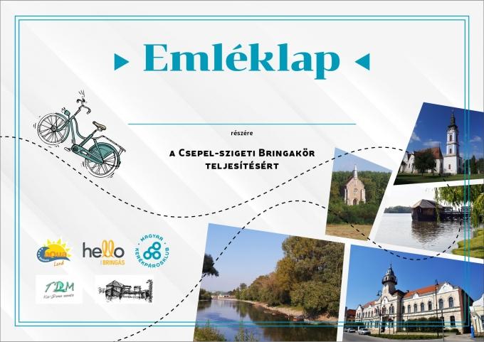 Emléklap Forrás: Kerékpárosklub.hu