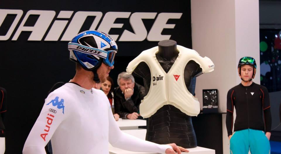 Dainese D-air az ISPO 2014-en Forrás: facebook.com/daineseofficial