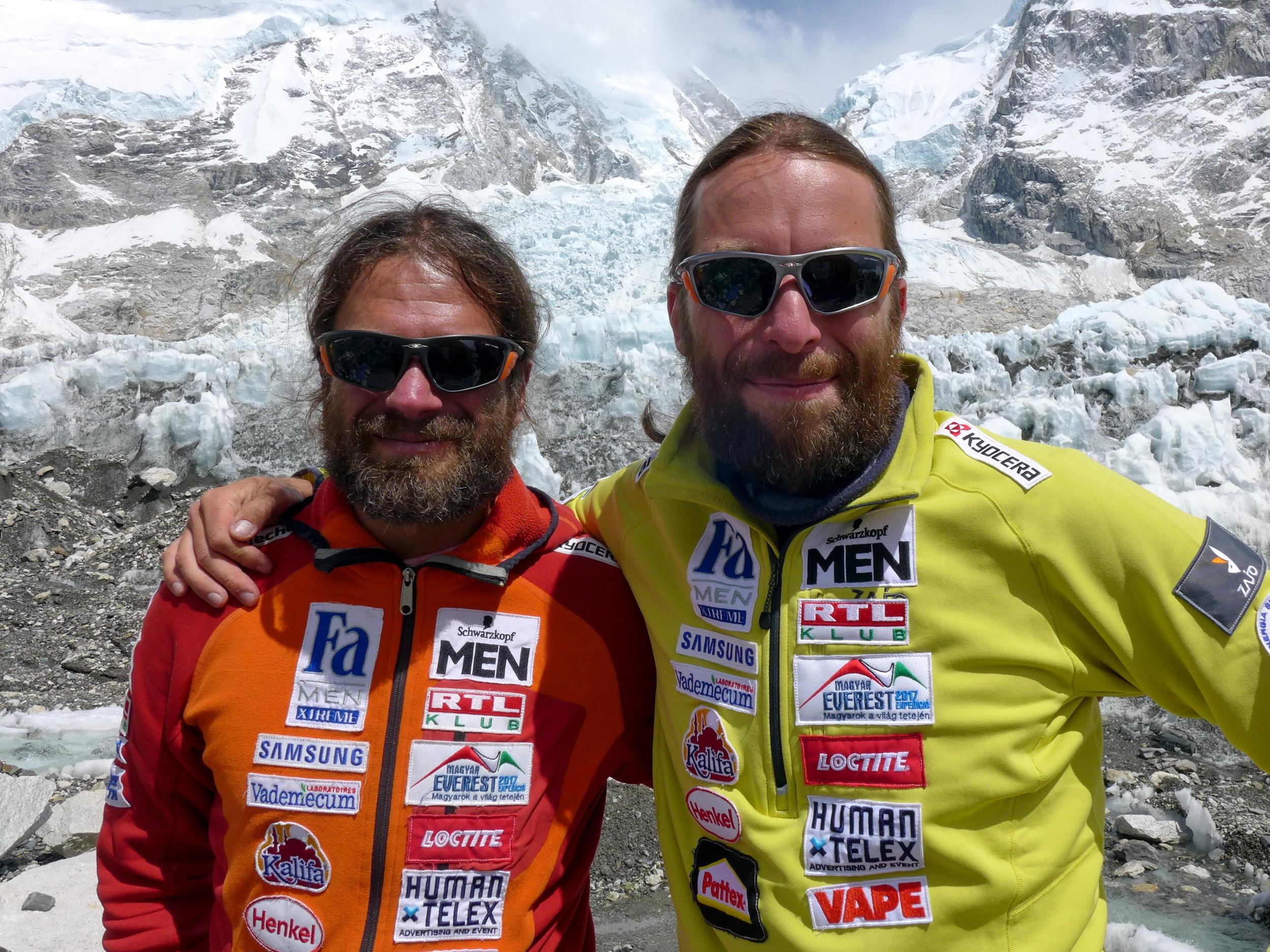 Klein Dávid és Suhajda Szilárd Forrás: Magyar Everest Expedíció 2017