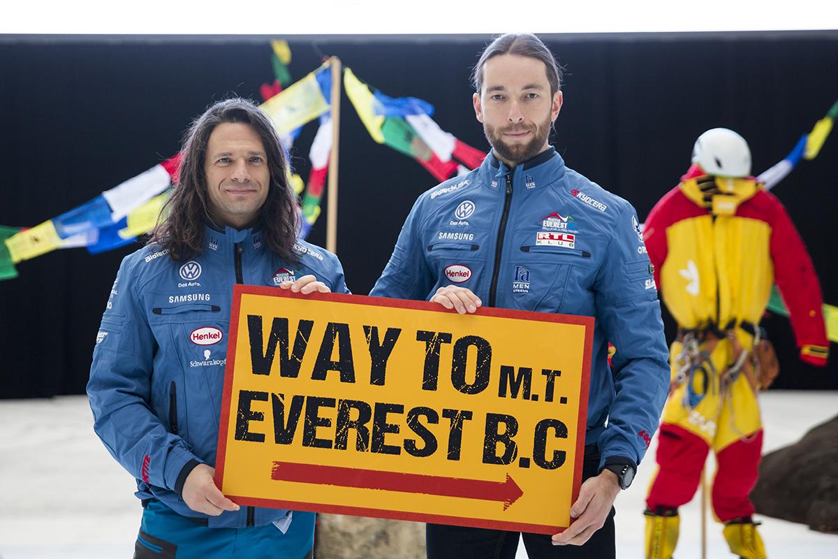 Klein Dávid és Suhajda Szilárd Forrás: Magyar Everest Expedíció 2017 - Mohai Balázs