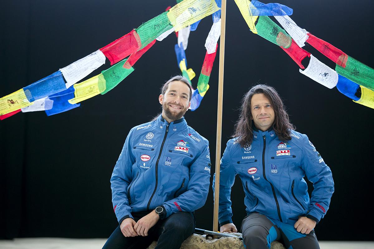 Suhajda Szilárd és Klein Dávid Forrás: Magyar Everest Expedíció 2017 - Mohai Balázs