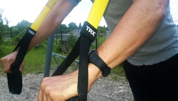 Chest Press - fekvőtámasz TRX szalaggal