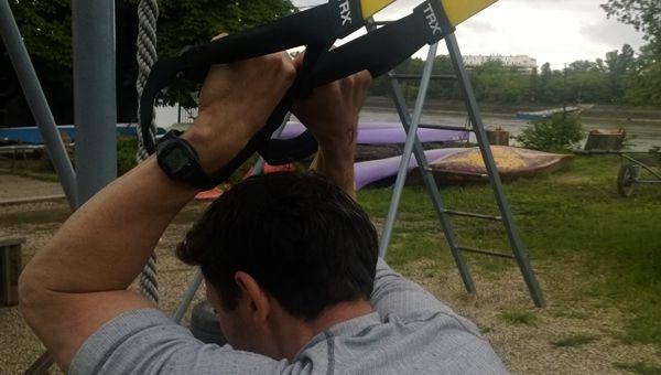 Triceps Press - Tricepsz tolás TRX szalaggal