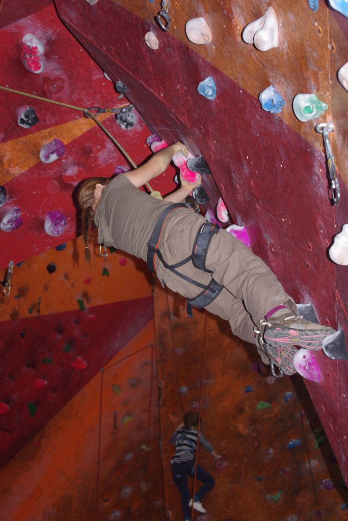 Bármit sportolsz, gyere mászni! Forrás: Baumabb Viola - Mozgásvilág.hu