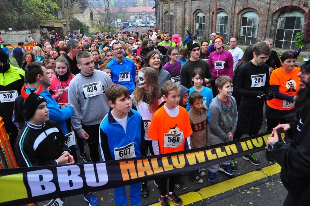 BBU Halloween Run Forrás: BBU-Szervezőiroda
