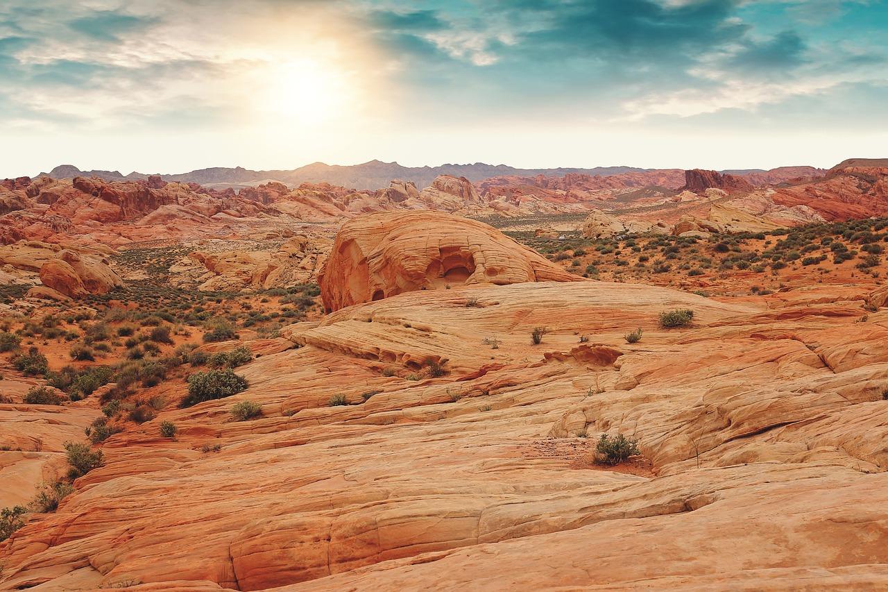 Las Vegas vörös sziklái Forrás: pixabay