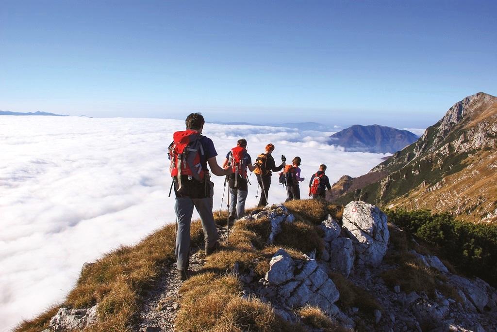 Nyári túra a Júliai Alpokban Forrás: Mojca Odar