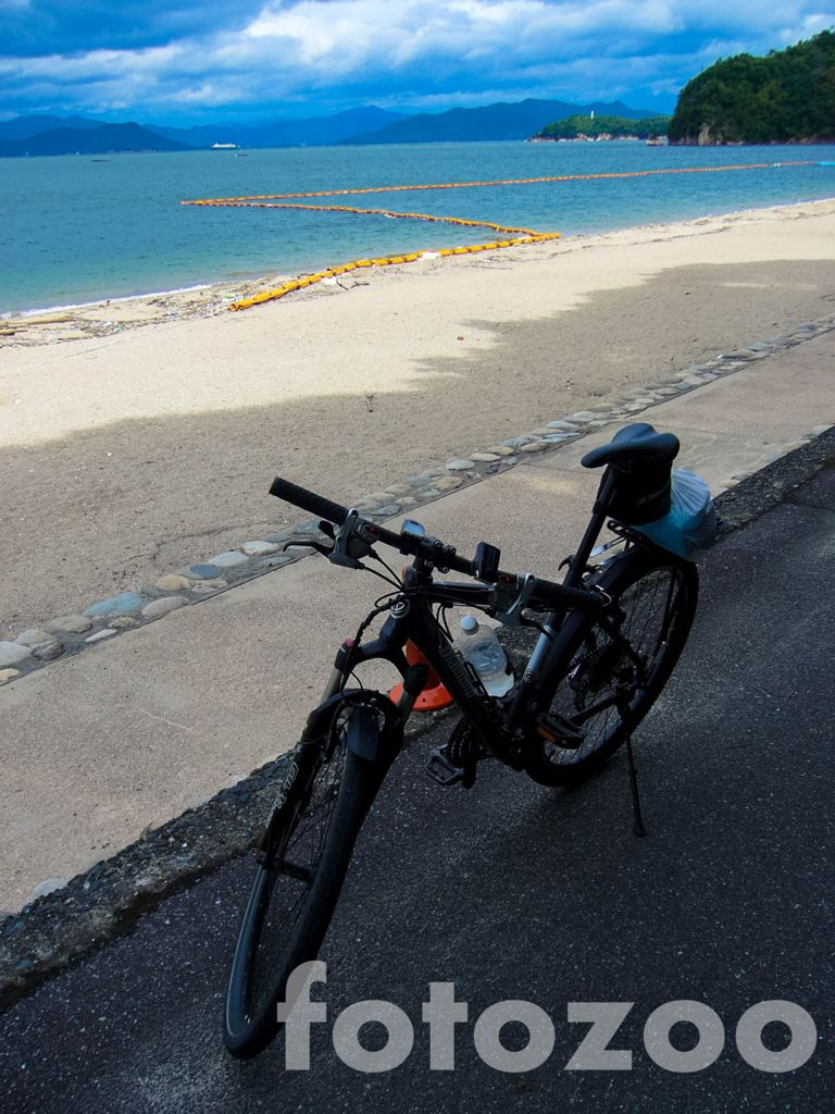 A szigeten eltöltött 10 napból többet töltöttem a strandon, mint a biciklin Forrás: Fotozoo - Horváth Zoltán