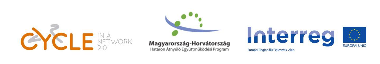 Cycle network, Interreg logok