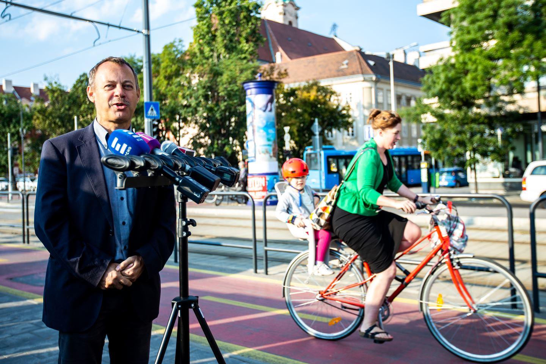 A kerékpáros kutatás ismertetése Forrás: (c) Dimény András / Magyar Kerékpároslub