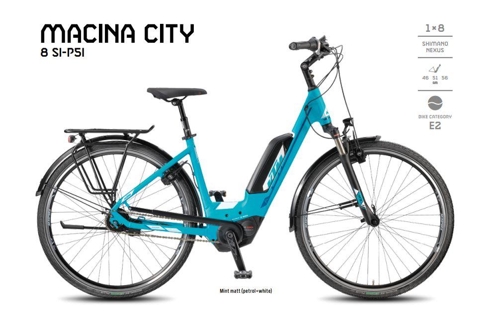 KTM Macina City Forrás: ktm-bikes.de