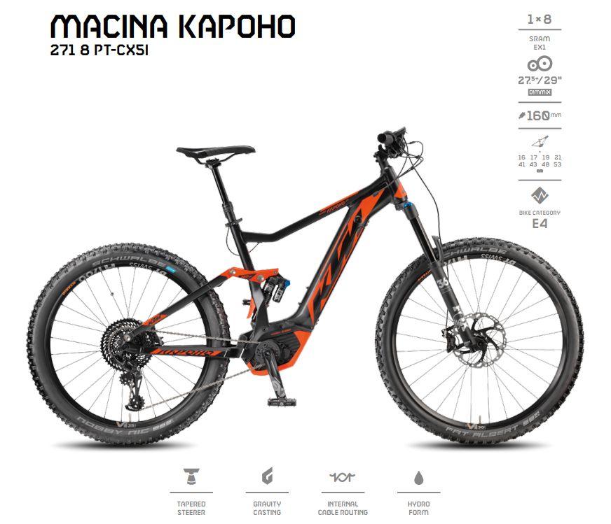 KTM Macina Kapoho Forrás: ktm-bikes.de