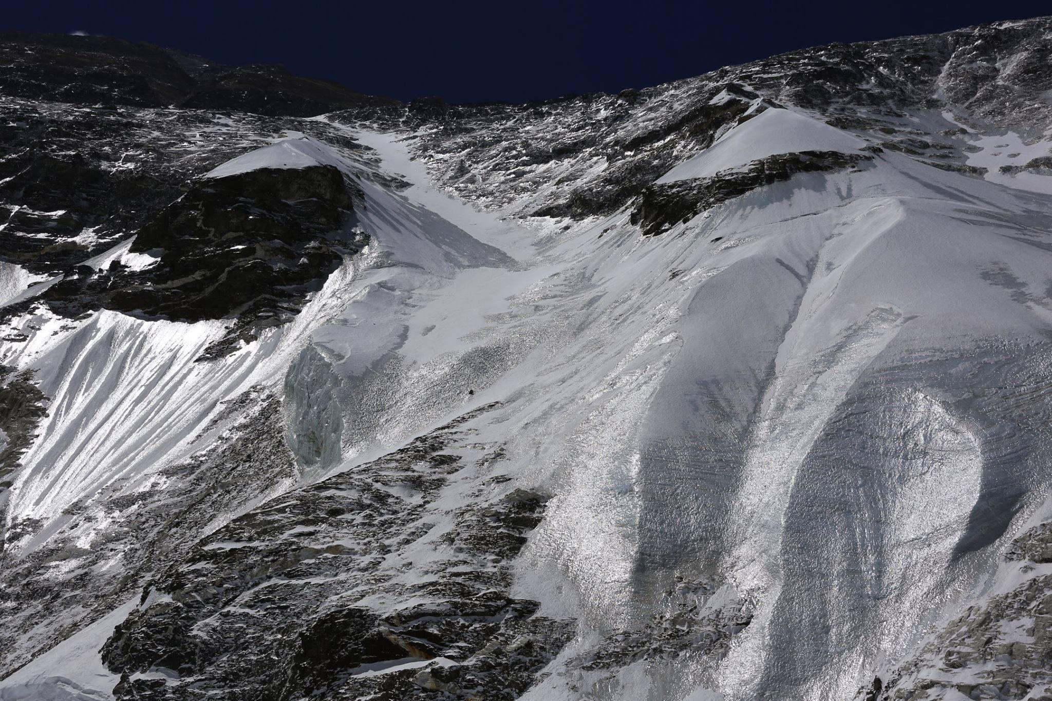 Az Everest északi fala Forrás: Nobukazu Kuriki Facebook