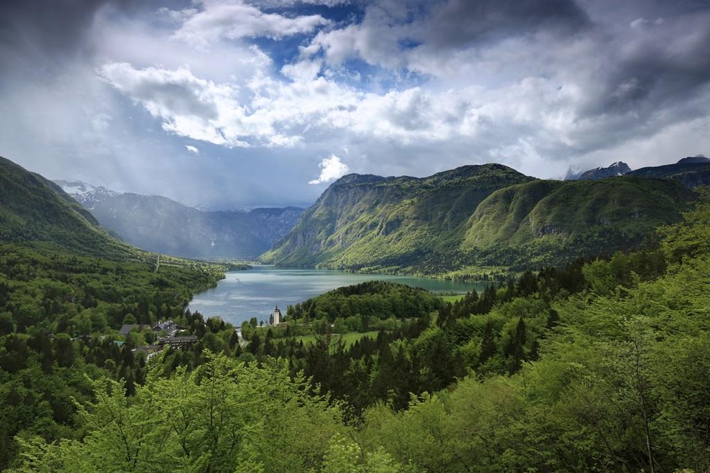 A Bohinji-völgy Forrás: Mitja Sodja