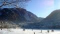 Kivételes természeti jelenség a befagyott Lunzer tónál! | www.mozgasvilag.hu