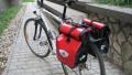 Vaude kerékpáros oldaltáska teszt | www.mozgasvilag.hu