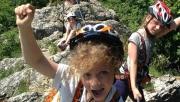 Via ferrata Cseszneken- gyerekekkel | www.mozgasvilag.hu