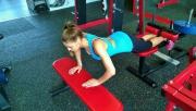 Hátsó comb bicepsz és nagy farizom gyakorlat | www.mozgasvilag.hu