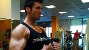 Bicepsz és Tricepsz szuperszett Molnár Péterrel