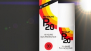 Riemann P20 vízálló napvédő