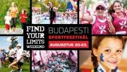 FIND YOUR LIMITS! Weekend Budapesti Sportfesztivál