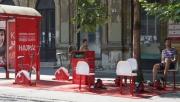 Megnyílt Budapest első buszmegálló tornaterme