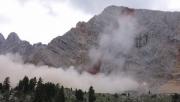 Óriási hegyomlás a Dolomitokban