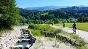 Kerékpáros élmények a 366 km hosszú Dráva kerékpárúton