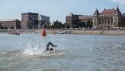 Hatalmas sikerrel ért véget az első budapesti Duna-átúszás