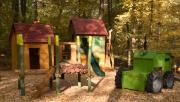 Erdészeti játszótér nyílt a Budakeszi Vadasparkban