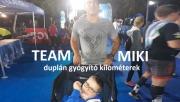 Team Miki - duplán gyógyító kilométerek