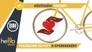 Közösségi tekerés egy jó ügyért a hello Bringás appal! | www.mozgasvilag.hu
