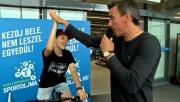 Jótékony célért tekertek a Decathlon Magyarország munkatársai és vásárlói