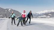 Tél a Weissensee-nél: jég és hó birodalma