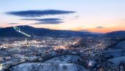 Mariborsko Pohorje, síterep a város felett