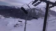 Hurrikán erejű szélvihar tombolt a Francia-Alpokban