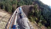 Railbiking, avagy bringázás elhagyatott vonatsíneken