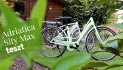Adriatica Sity Max ebike teszt | www.mozgasvilag.hu