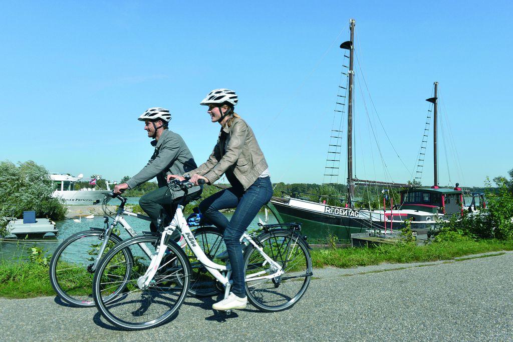 Kerékpározás Tullnban Forrás: © Donau Niederösterreich / Steve Haider