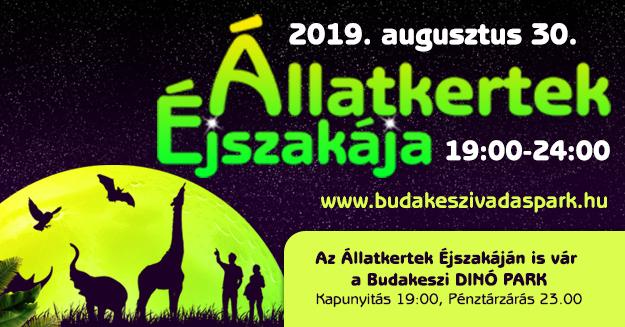 Állatkertek Éjszakája a Budakeszi Vadasparkban Forrás: www.budakeszivadaspark.hu