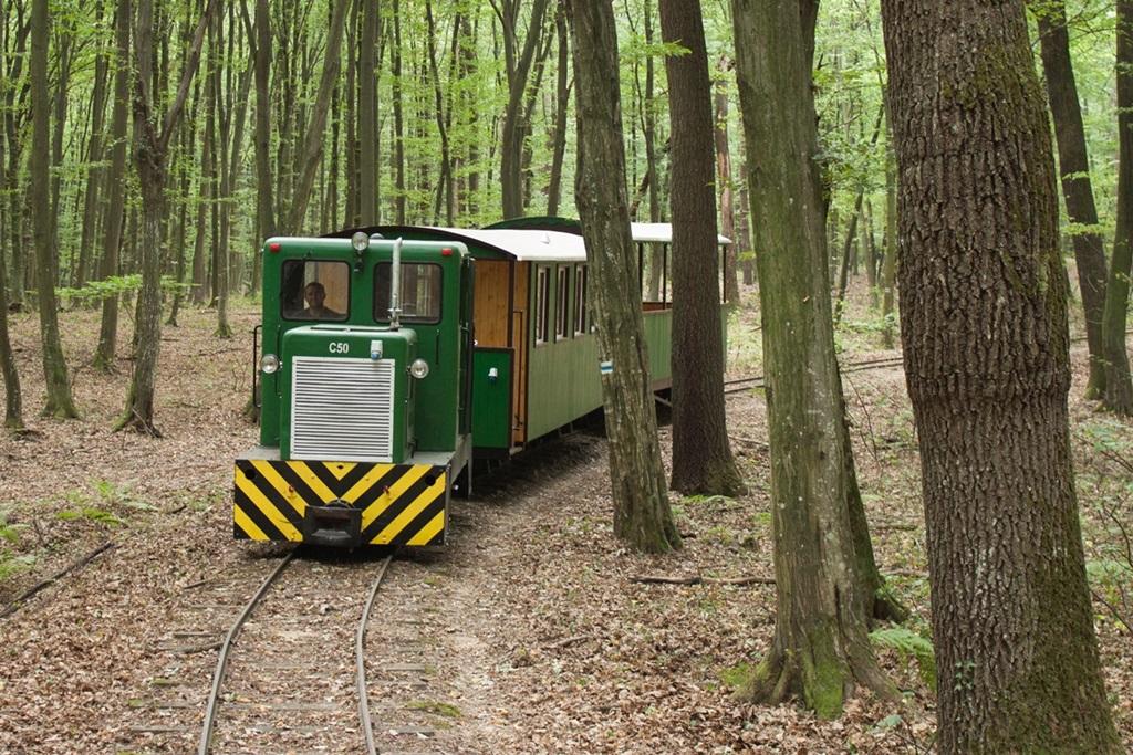 Mesztegnyői erdei vasút Forrás: (c) SEFAG Zrt.