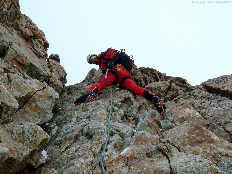 Örömmászás (Jungfrau, Svájc) Forrás: Suhajda Szilárd