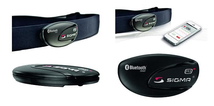 Sigma ANT Comfortex Bluetooth Smart pulzusmérő öv Forrás: Bikefun.hu
