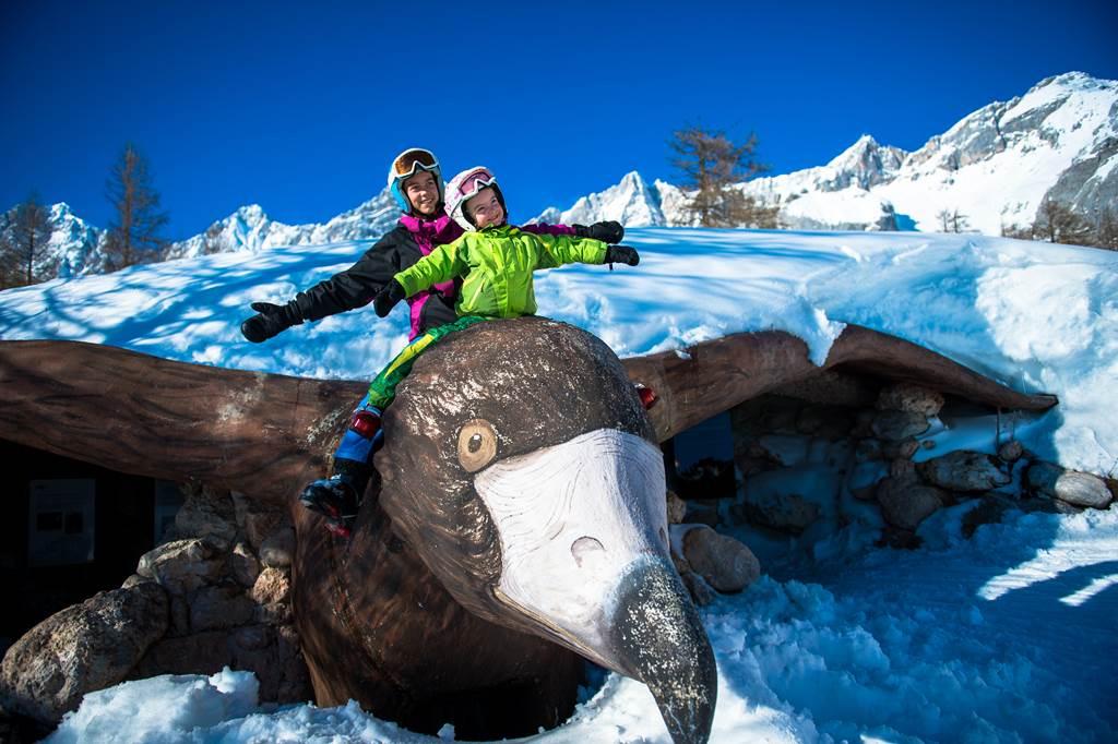 A SENSations pontok egyike Forrás: © Ski amadé