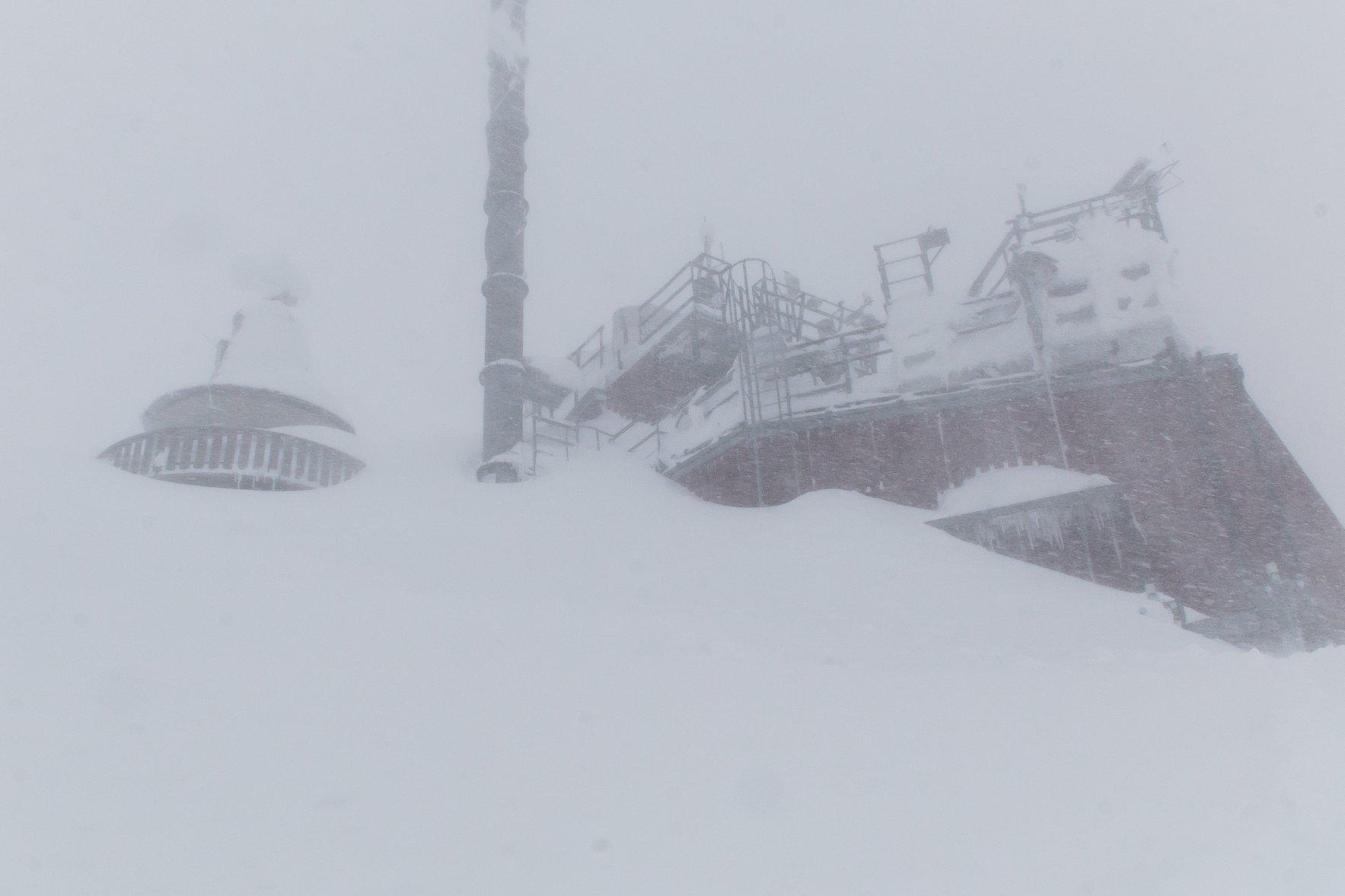 Zittelhaus, meteorológiai obszervatórium a Hoher Sonnblicken, 3105 m Forrás: Zittelhaus Facebook